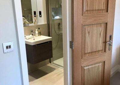 Internal Bathroom Door