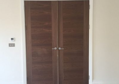 Interior Walnut Door